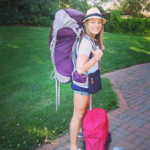 Leaving on a backpacking adventure, Peshastin, Washington