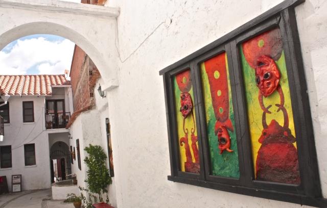 My sanctuary, a lovely little hostel called Casa Arte