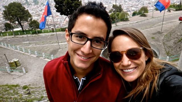 Exploring Quito with my favorite Ecuadorian.