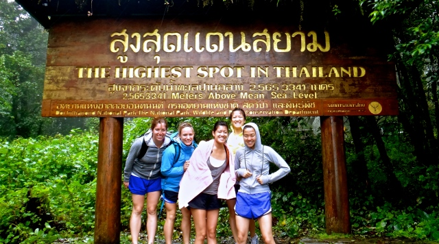 Thailand's highest...spot?  Close enough!