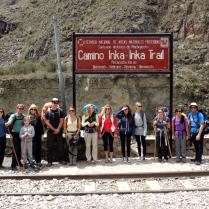 Inca Trail, Ollantaytambo, Peru