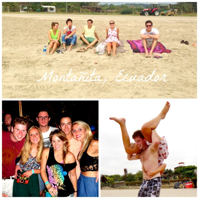 Montañita Collage