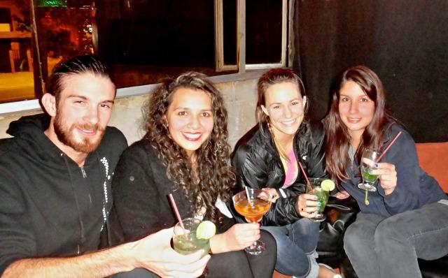 Con la hermosa Silvia en Bogota!