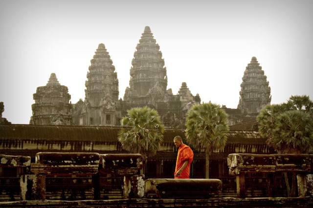 Angkor Wat, world's largest religious complex.